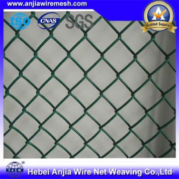 Clôture de liaison en chaîne soudée soudée en PVC
