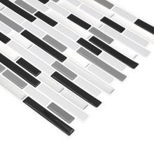 Waterproof Self Adhesive Peel Kitchen Mosaic Tile Stickers