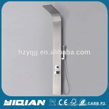 Panneau de douche en acier inoxydable en marbre thermostatique CE