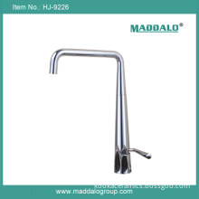 Simple Design Chrome Single Lever Big Faucet Kitchen (HJ-9226)