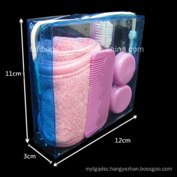 Transparent PVC Cosmetic Gift Bag for Promotion
