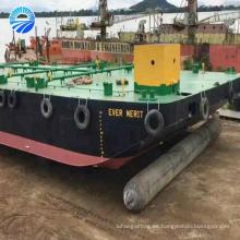 pontones para barcos airbag marino para lanzamiento de barcos