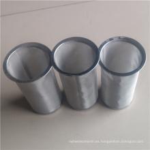Más barato fácil limpiar el tubo del infusor del filtro de acero del reemplazo del tarro de albañil tubo helado del fabricante de café