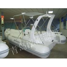 Obra de costilla-580B caliente nueva CE 2011 barco inflable del yate de lujo