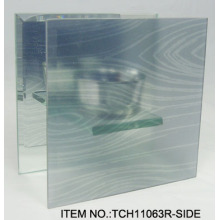 Portavelas de vidrio