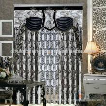 Rideaux italiens modernes sur mesure en noir et blanc