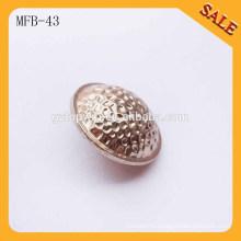 MFB43 Cheap china wholesale clothing lady dress shirt metal button 17mm