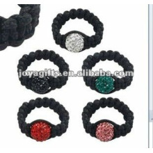 Fashion Shamballa Balls Ring