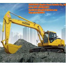Excavatrice hydraulique de chenille de 0.9m3
