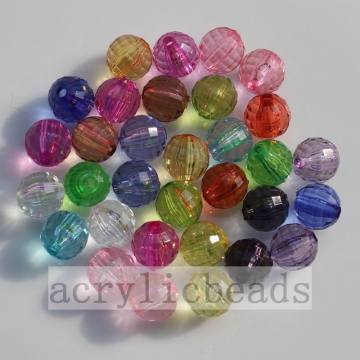 Clear 96 facettes coupe ronde Perles Spacers charmant global