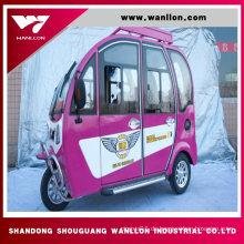 Passagier Bequemes preiswertes elektrisches Dreirad