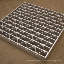 Material de construção em aço Galvanized Metal Grating