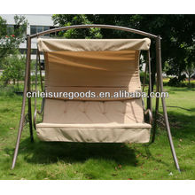 Cadeira de balanço para pátio de metal resistente