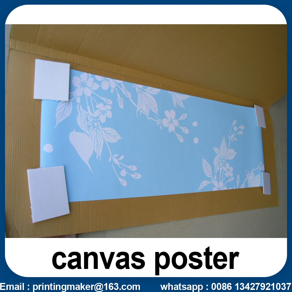 canvas poster printing