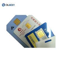 Tarjeta inteligente de contacto SLE5528 / 5542 / PVC en blanco Tarjeta IC inteligente de contacto