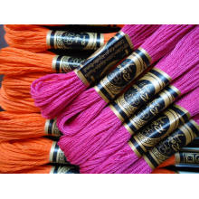 100% Cotton Embroidery Thread (Cross Stitch Floss Skeins Threads)