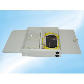 12 Cores Indoor Wall Type Fiber Optic Distribution Frame