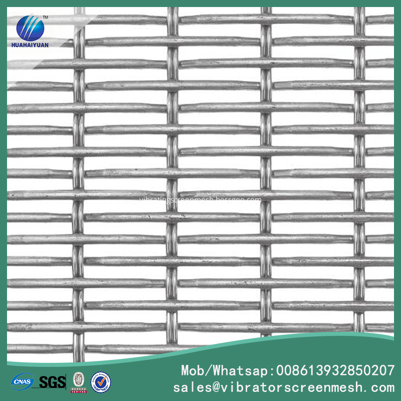 Oblong Opening Woven Wire Mesh
