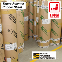 High quality rubber sheet made from different plastics. Manufactured by Tigers Polymer. Made in Japan (silicone sheet)
