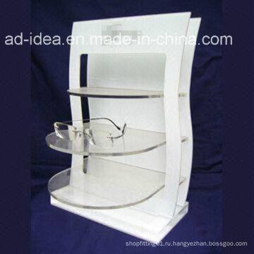 Горячая Продажа Белая Подгонянная акриловая с логотипом
