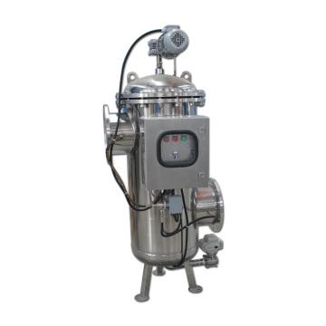 Filtre automatique de brosse d'aspiration d'eau de nettoyage d'individu avec le différentiel de pression