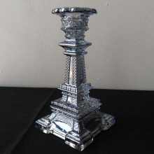 Torre Eiffel Taper Candle Holder Square Base