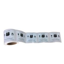 high quality factory printing custom adhesive sticker label