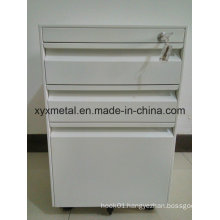 Assembled Mobile Filing Drawer Cabinet with Cam Lock
