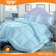 Синее одеяло из пухового одеяла, наполненное гусиным пуховым одеялом (DPF1078)