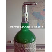 En1975 Aluminum Oxygen Cylinder 4.6L (ME-size)