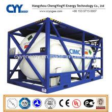 Hochdruck-kryogener Flüssigsauerstoff-Stickstoff-Argon-ISO-Tankcontainer