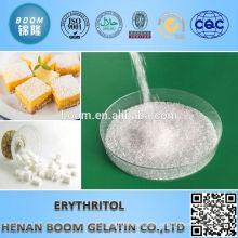 Organic powdered erythritol