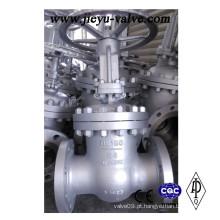 Pn64 Dn150 Aço Carbono Gp240gh Válvula de Porta