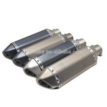 Akrapovc 35-51MM Universal Motorcycle Exhaust Modified Muffler pipe For most motorcycles CB400 CBR600 YZF YZR R1 E6 TTR GSXR750
