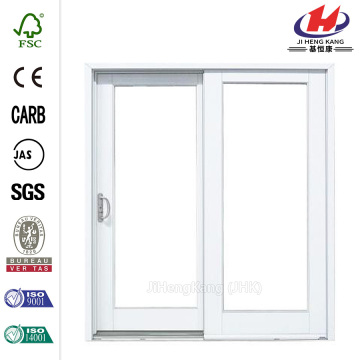 White Left Hand Vinyl Patio Door