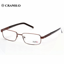 Marcos ópticos de metal, lentes ópticas de marco de cobre (MOD4002)