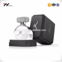 Custom logo UV printer high quality recyclable cardboard packaging perfume box luxury