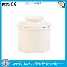 Crock de Bell de manteiga cerâmica de alta qualidade com logotipo personalizado / guardião de manteiga / manteiga titular