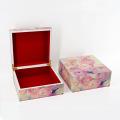 Caja de madera hermosa de la joya de la mujer para el regalo