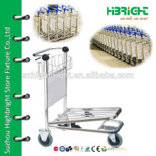 airport baggage trolley hand cart