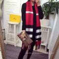 Bufanda de lana de lana de cachemira