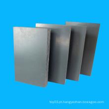 Bom Succedaneum Fácil processamento Painel de PVC Cinza Escuro