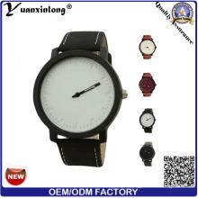 Yxl-294 Simple Design Fashion Watch Mens Good Quality Casual Sport Men Watches Custom Logo Leather Brand Wristwatch