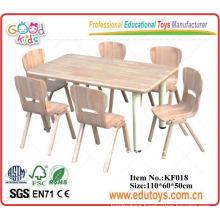 Kindergarten desk & chairs