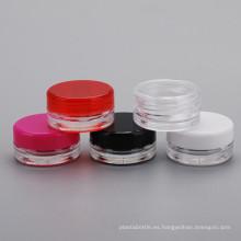 Botella cosmética 3G PS para crema para las uñas crema para las uñas
