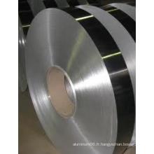 Bande en aluminium / aluminium pour aluminium laminé en plastique
