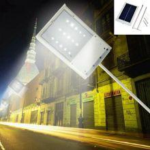 15 Lámpara Solar LED Panel Solar Powered Panel LED Luminaria Lámpara de Emergencia Luminaria