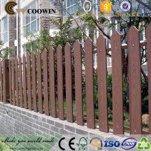 Painel de vedação de jardim composto de plástico de madeira de alta resistência