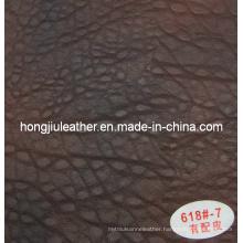 Thick Sipi Leather for Furniture/Sofa/Chair (Hongjiu-6018#)