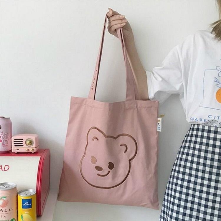 Bear Handbag Embroidery